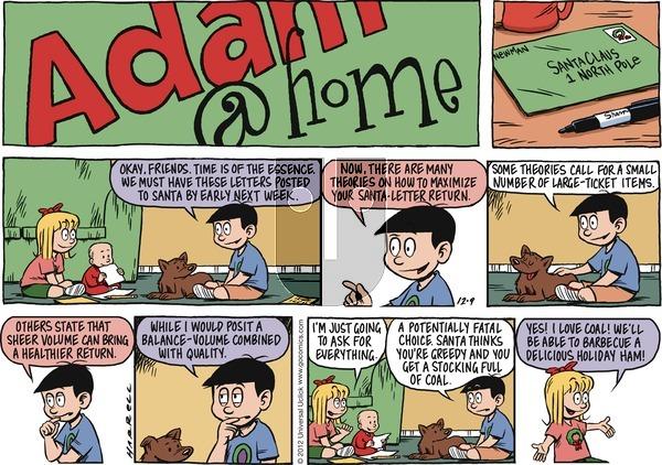 Adam@Home on Sunday December 9, 2012 Comic Strip