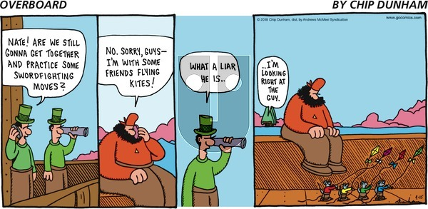 Overboard on Sunday April 15, 2018 Comic Strip