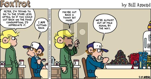 FoxTrot on Sunday May 24, 2020 Comic Strip
