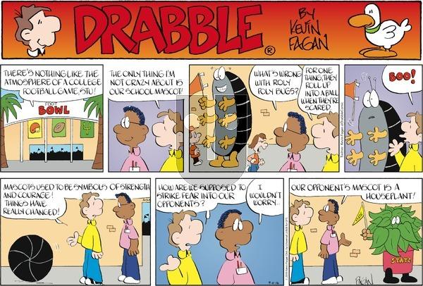 Drabble on Sunday September 4, 2016 Comic Strip