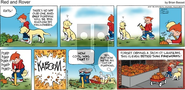 Red and Rover on Sunday October 24, 2021 Comic Strip