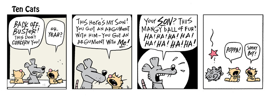 Ten Cats Comic Strip for June 18, 2021