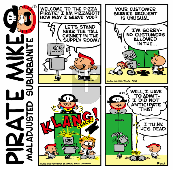 Pirate Mike on Wednesday May 5, 2021 Comic Strip