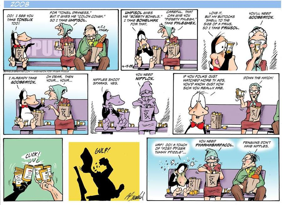 Bloom County 2019 Comic Strip for March 20, 2016