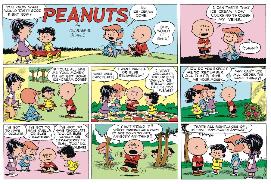 Peanuts Begins Comic Strip for November 06, 2016