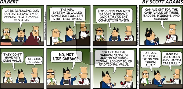 Dilbert on Sunday May 19, 2013 Comic Strip