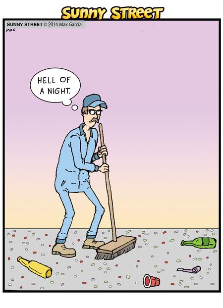 Sunny Street Comic Strip for January 01, 2014