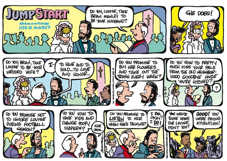 JumpStart for Jan 5, 1997 Comic Strip