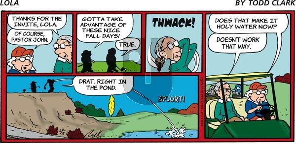 Lola - Sunday October 13, 2019 Comic Strip