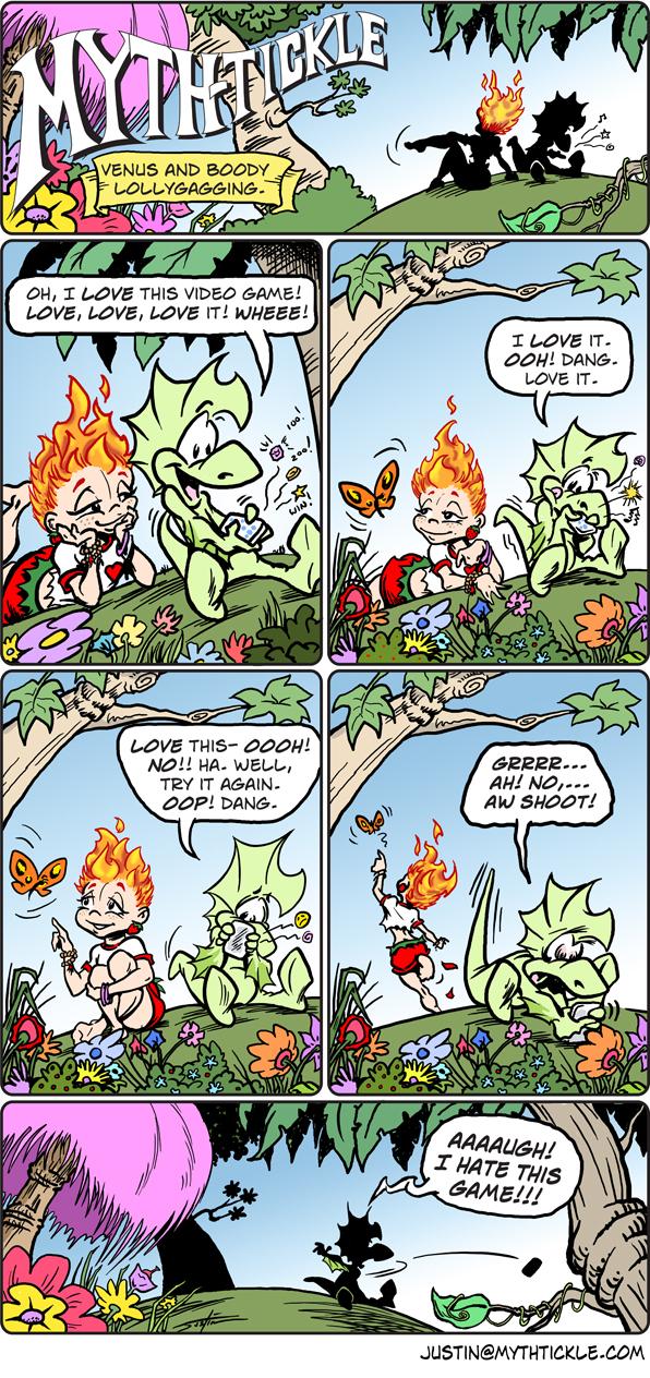 MythTickle for Jun 21, 2013 Comic Strip