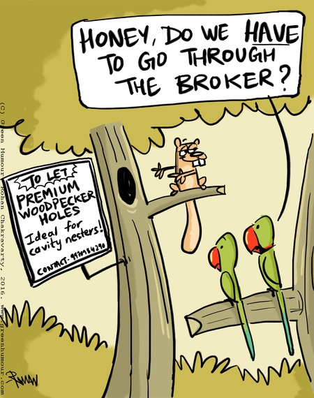 Green Humour Comic Strip for April 24, 2016