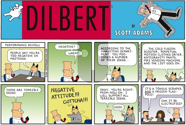 Dilbert on Sunday May 23, 2004 Comic Strip