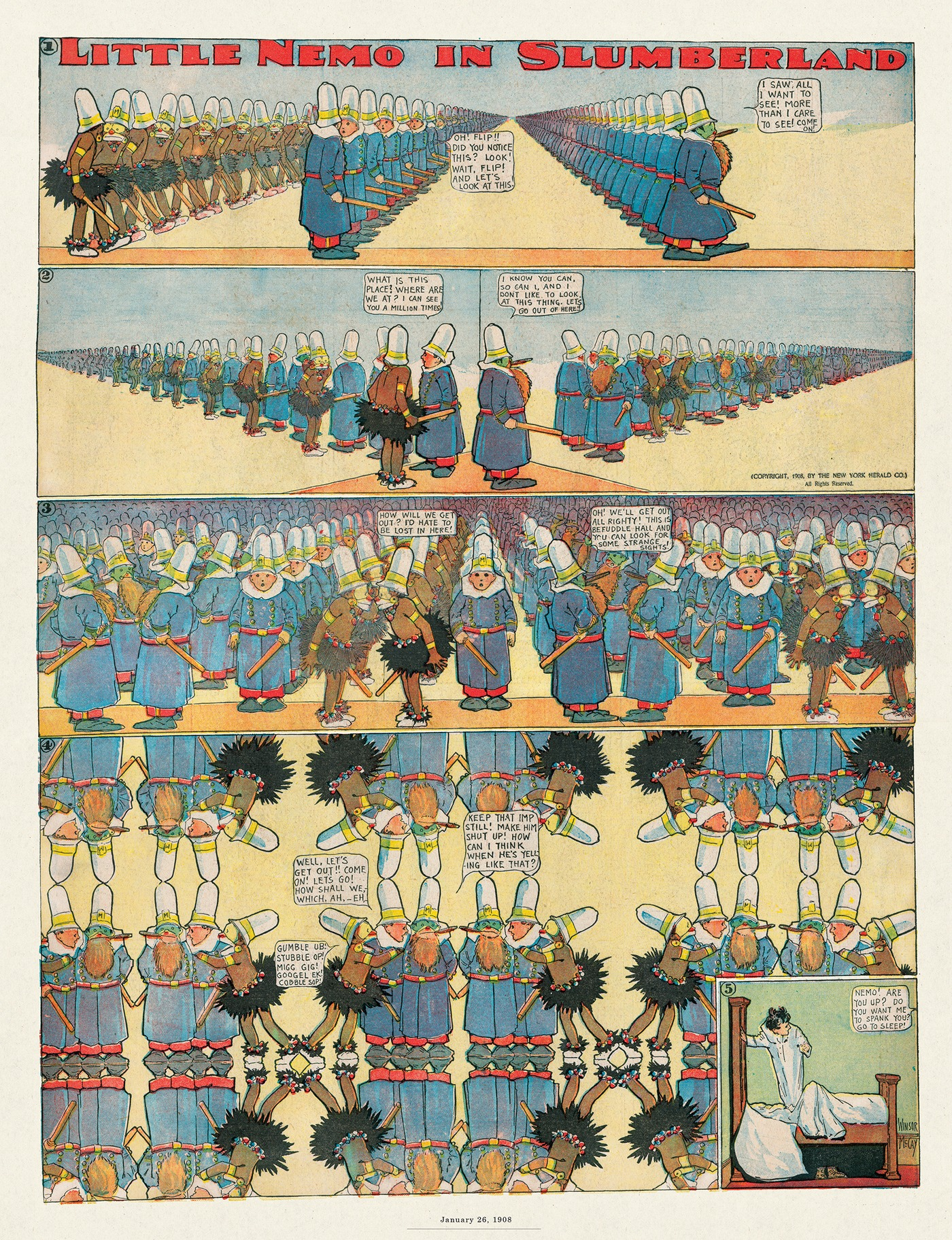 Little Nemo by Winsor McCay on Thu, 10 Sep 2020