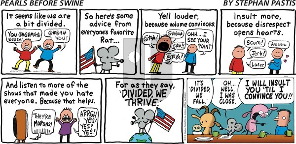 Pearls Before Swine - Sunday August 26, 2018 Comic Strip