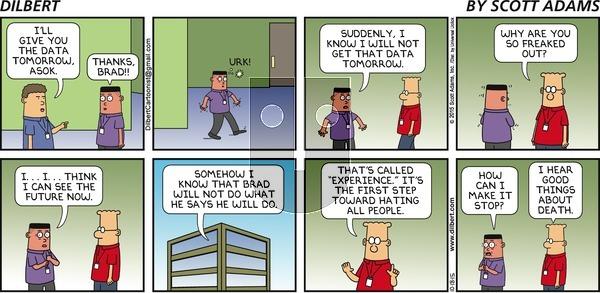 Dilbert on Sunday October 18, 2015 Comic Strip