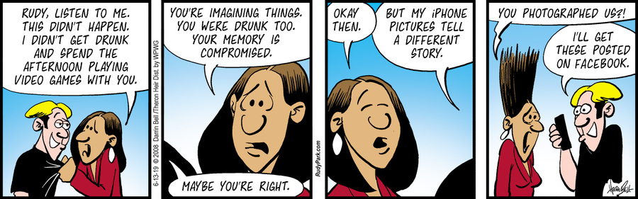 Rudy Park Comic Strip for June 13, 2019