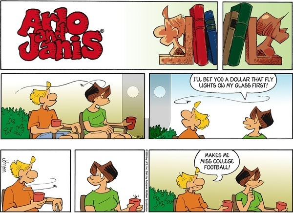 Arlo and Janis on Sunday September 13, 2020 Comic Strip
