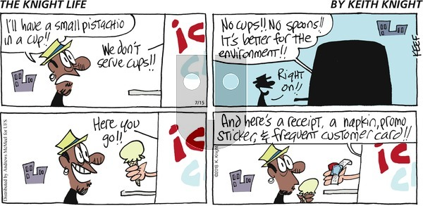 The Knight Life - Sunday July 15, 2018 Comic Strip