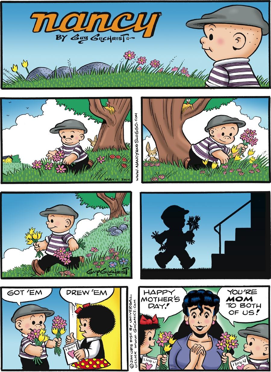 Nancy for May 11, 2014 Comic Strip