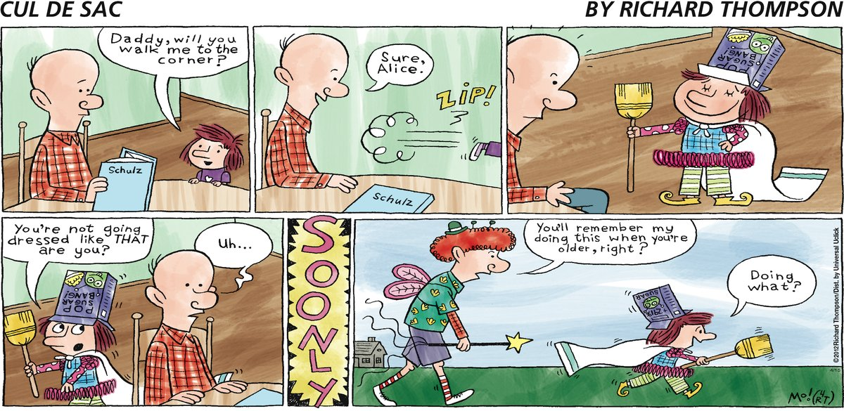 Cul de Sac Comic Strip for April 15, 2012