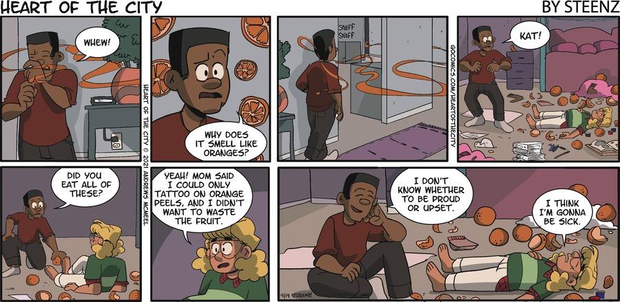 Heart of the City Comic Strip for September 19, 2021