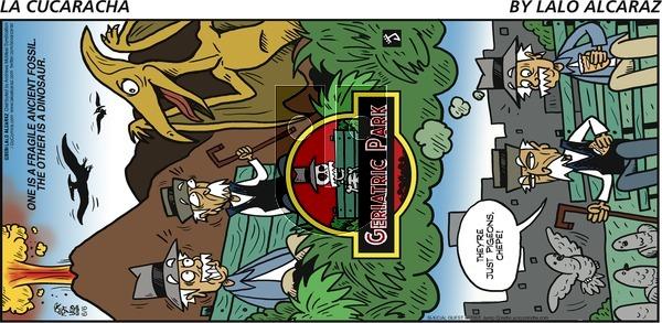 La Cucaracha on Sunday June 6, 2021 Comic Strip