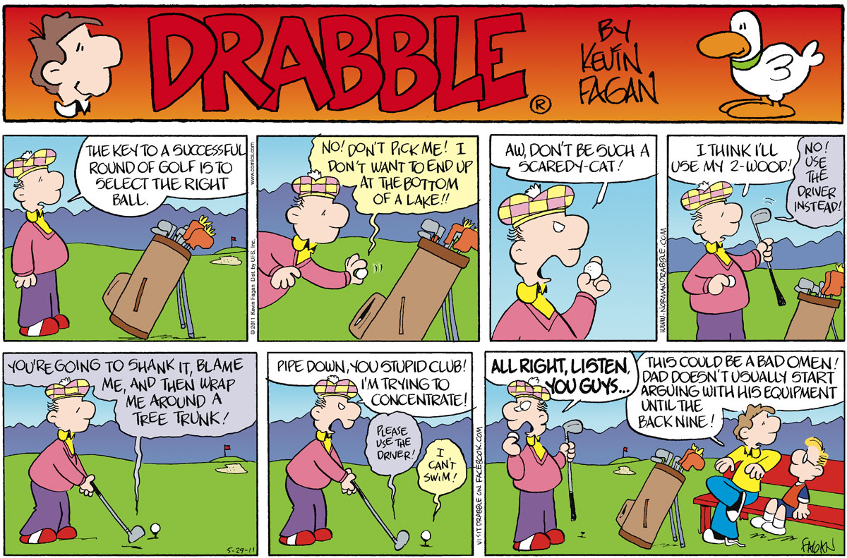 Drabble for May 29, 2011 Comic Strip