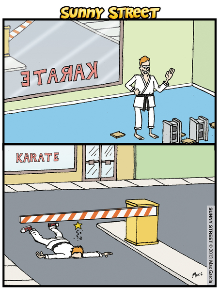 Sunny Street Comic Strip for September 19, 2013