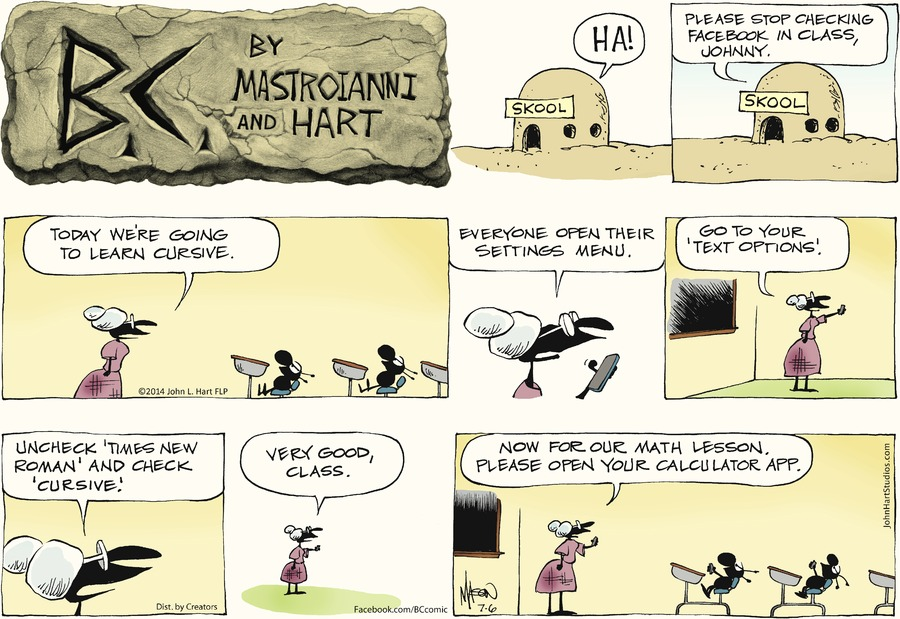 B.C. Comic Strip for July 06, 2014