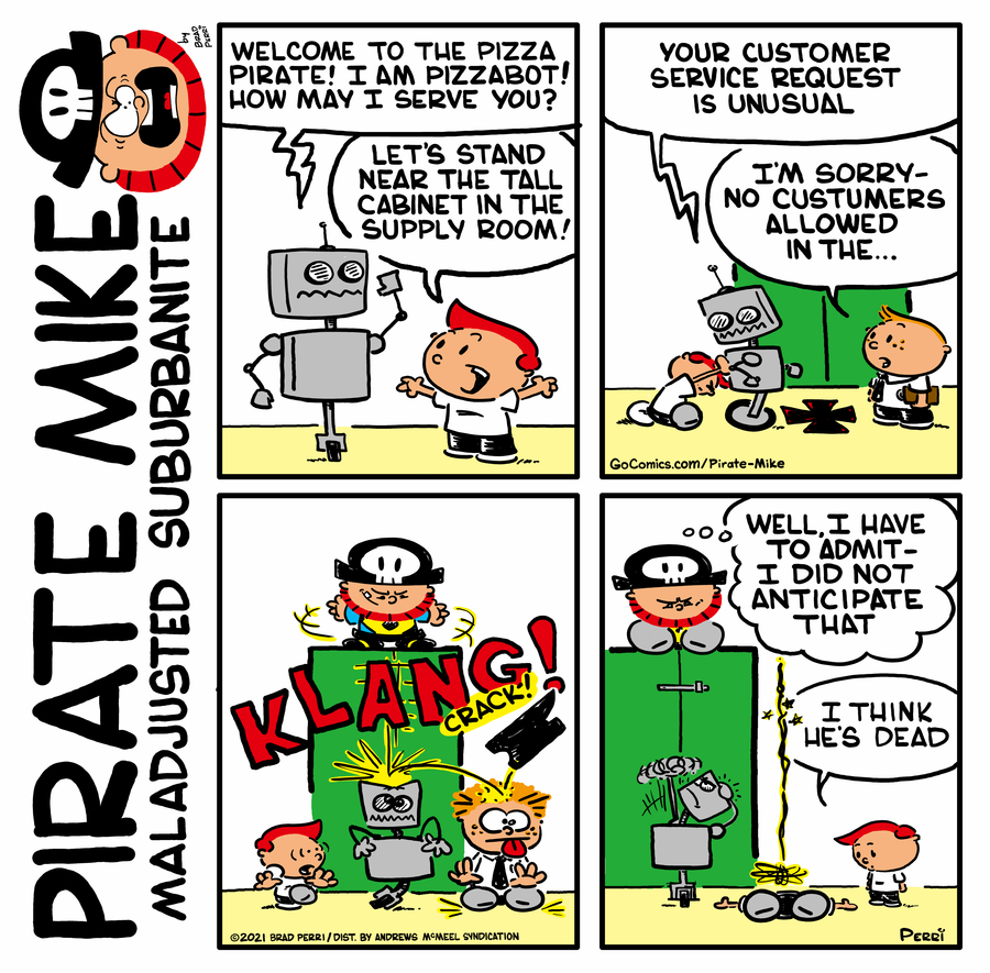 Pirate Mike Comic Strip for May 05, 2021