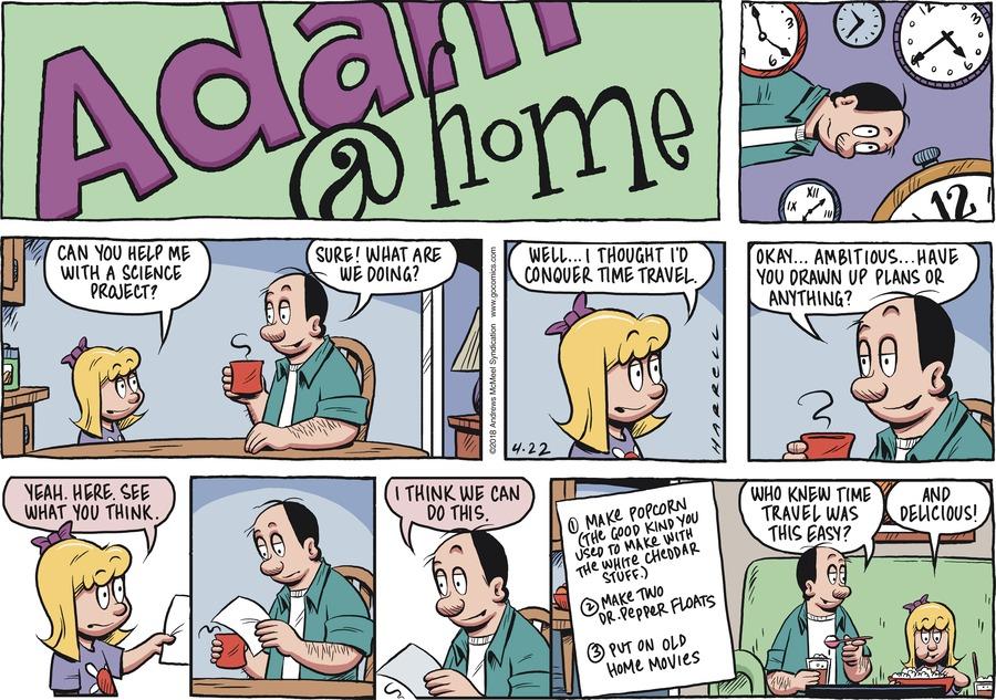 Adam@Home Comic Strip for April 22, 2018