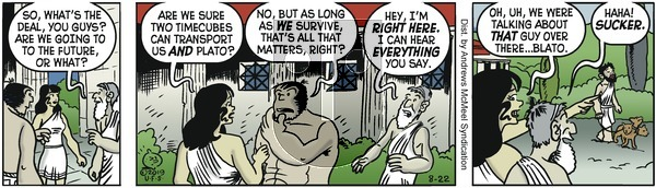 Alley Oop - Thursday August 22, 2019 Comic Strip