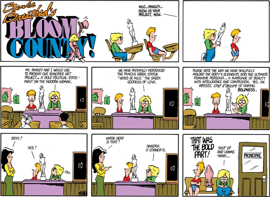 Bloom County for Mar 28, 1982 Comic Strip