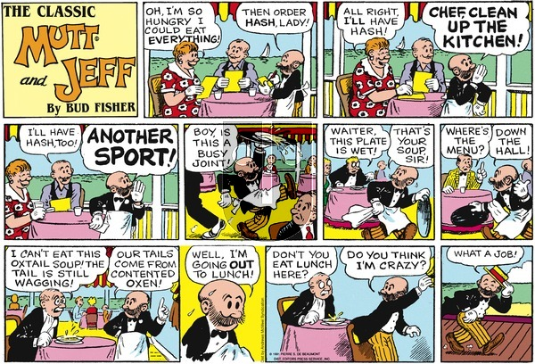 Mutt & Jeff on Sunday February 17, 2019 Comic Strip