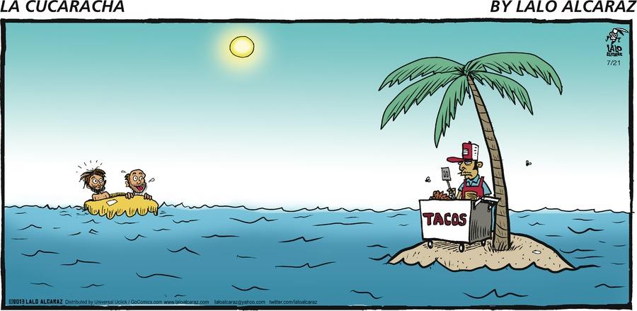 La Cucaracha for Jul 21, 2013 Comic Strip