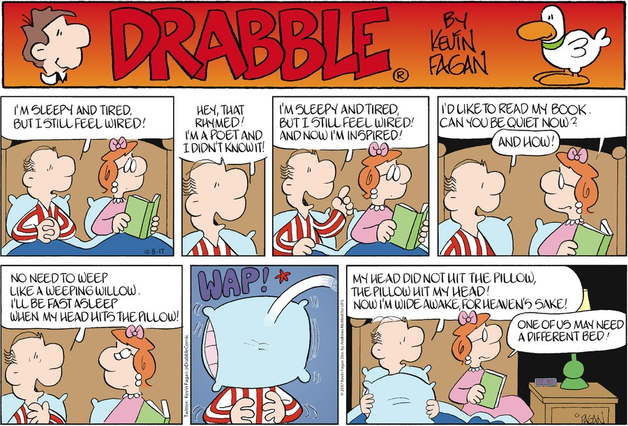 Drabble for Oct 8, 2017 Comic Strip