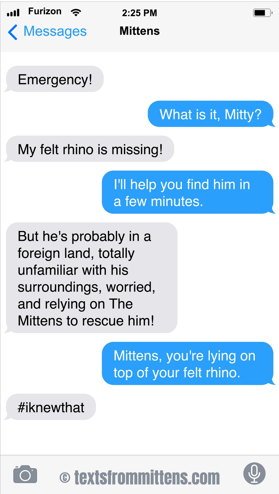 Texts From Mittens by Angie Bailey on Sun, 24 Oct 2021