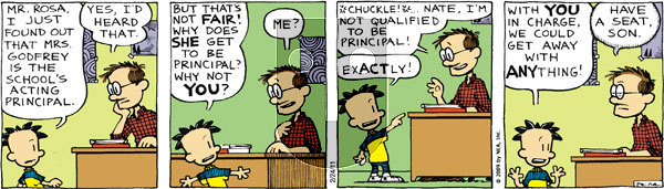 Big Nate on Thursday February 24, 2011 Comic Strip