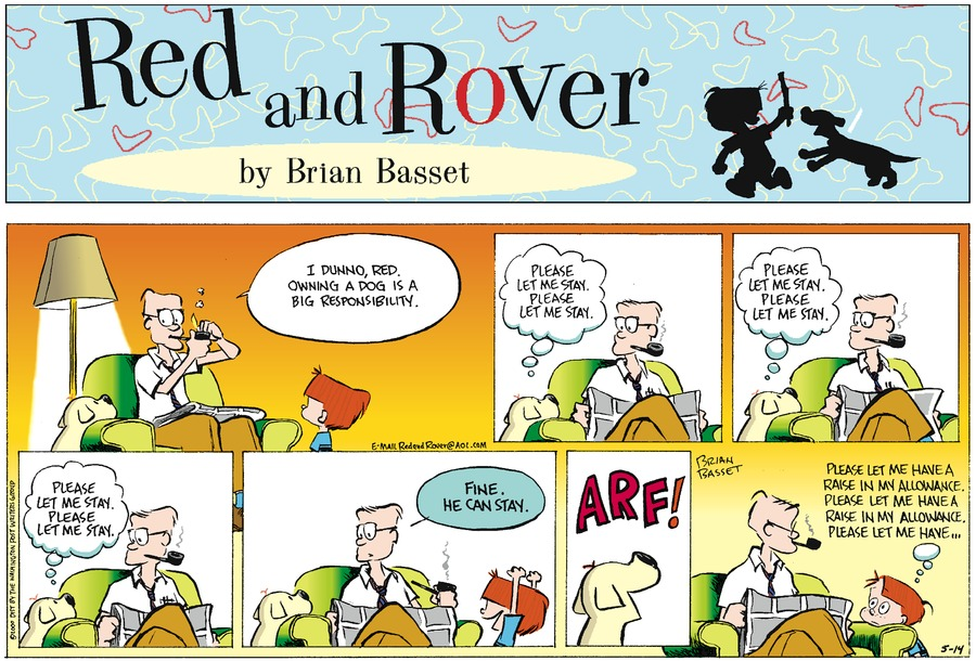 Red and Rover for May 14, 2000 Comic Strip