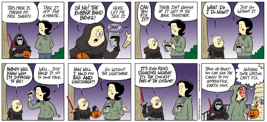 Gil Comic Strip for October 27, 2019