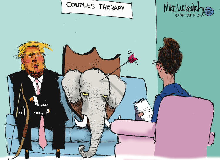 Mike Luckovich Comic Strip for December 30, 2020