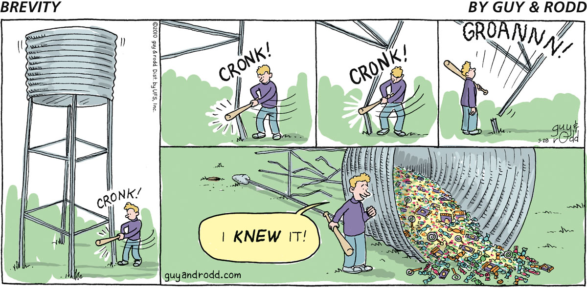 Brevity Comic Strip for March 28, 2010