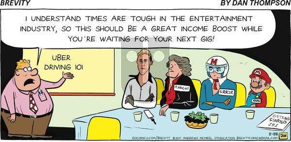 Brevity on Sunday February 26, 2017 Comic Strip