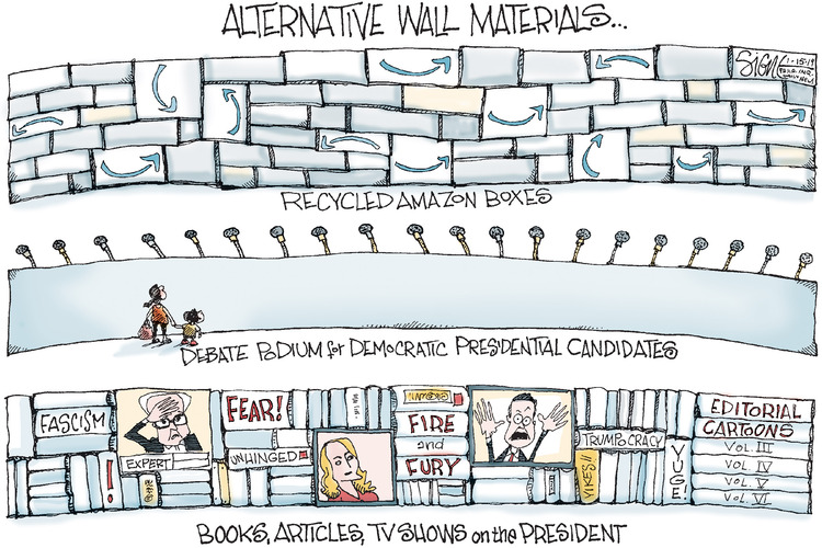 Signe Wilkinson Comic Strip for January 15, 2019