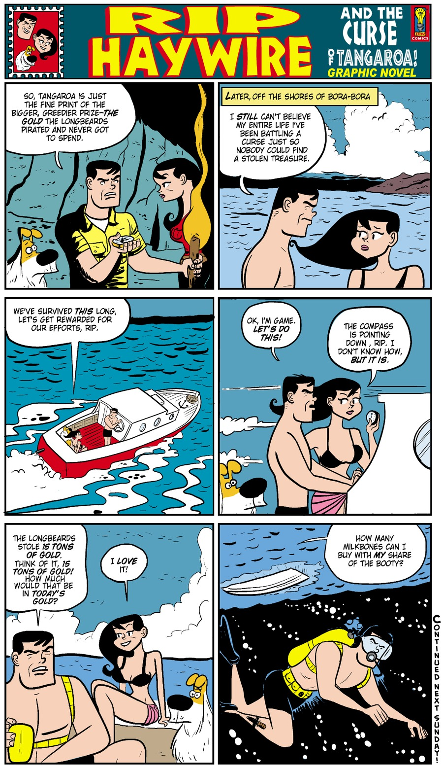 Rip Haywire Comic Strip for August 24, 2014