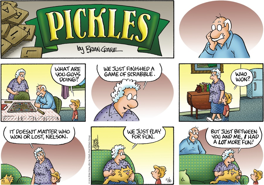 Pickles Comic Strip for February 16, 2014