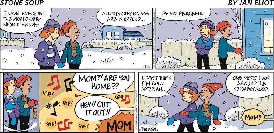 Stone Soup for Dec 17, 2017 Comic Strip