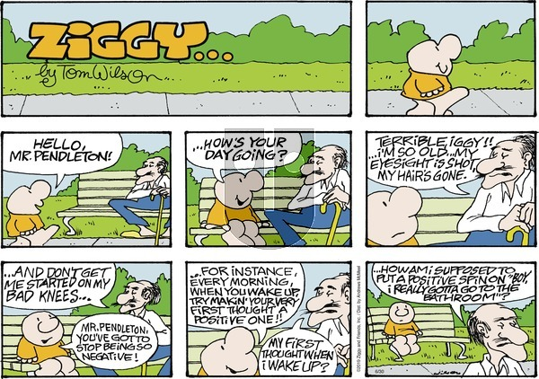 Ziggy on Sunday June 30, 2019 Comic Strip