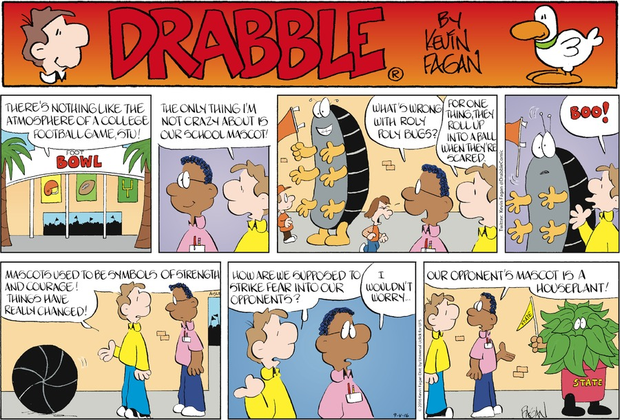 Drabble for Sep 4, 2016 Comic Strip