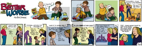 For Better or For Worse on Sunday November 9, 2008 Comic Strip